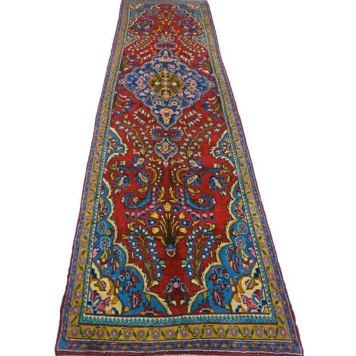 "https://www.armanrugs.com/ | 6' 11"" x 14' 10"" Red Sarough Handmade Wool Authentic Persian Rug"