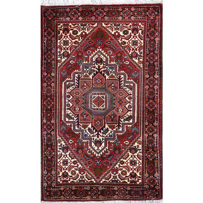 "https://www.armanrugs.com/ | 2' 6"" x 4' 1"" Beige Bijar Hand Knotted Wool Authentic Persian Rug"