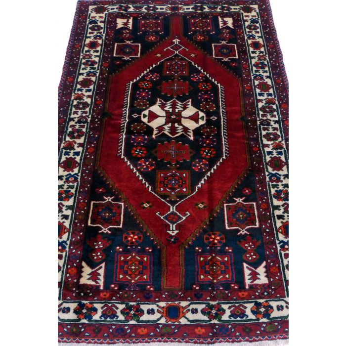 "https://www.armanrugs.com/ | 4' 6"" x 6' 11"" Red Shiraz Handmade Wool Authentic Persian Rug"