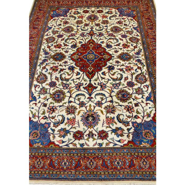 "https://www.armanrugs.com/ | 8' 6"" x 11' 4"" Beige Sarough Handmade Wool Authentic Persian Rug"