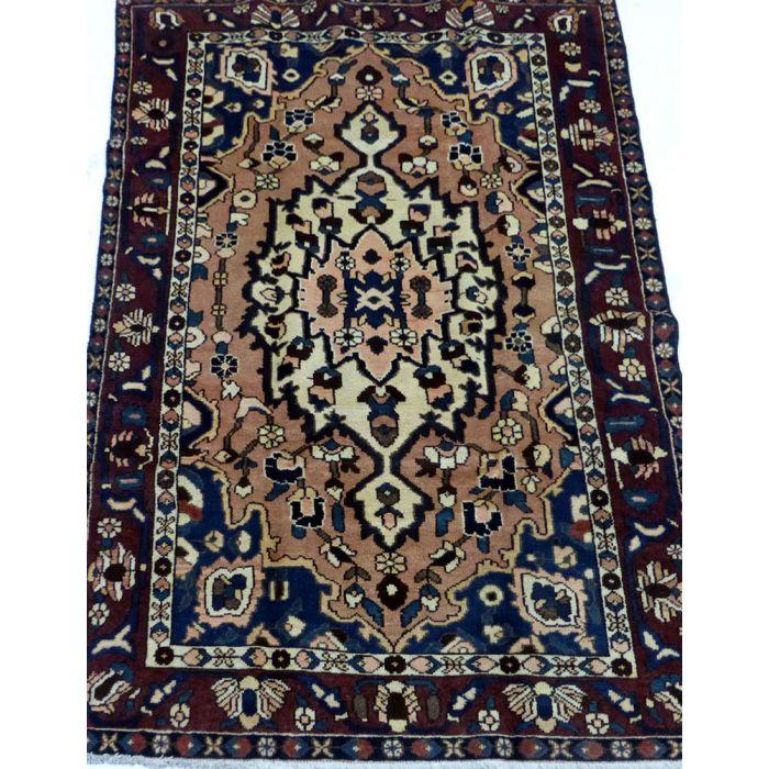 "https://www.armanrugs.com/ | 5' 3"" x 7' 10"" Red Bakhtiari Handmade Wool Authentic Persian Rug"